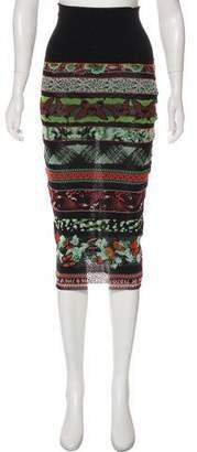 Jean Paul Gaultier Mini Print Skirt