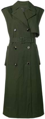 Bottega Veneta sleeveless belted trenchcoat