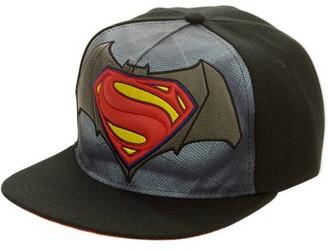 Batman Dawn Of Justice Pebble Applique Adjustable Baseball Cap