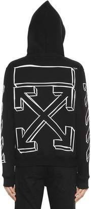 Off-White Oversize Marker Arrows Sweatshirt Hoodie