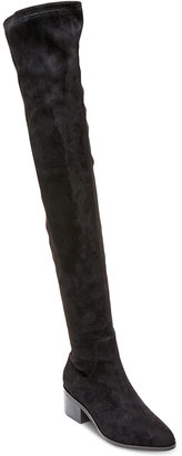 Steve Madden Women's Gabriana Block-Heel Over-The-Knee Boots $129 thestylecure.com