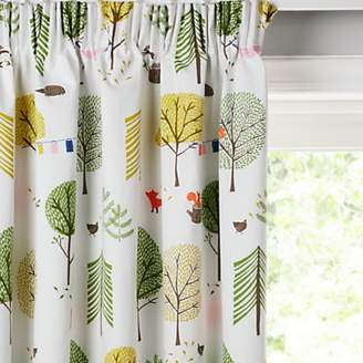 little home at John Lewis Camping Pencil Pleat Pair Blackout Lined Children's Curtains
