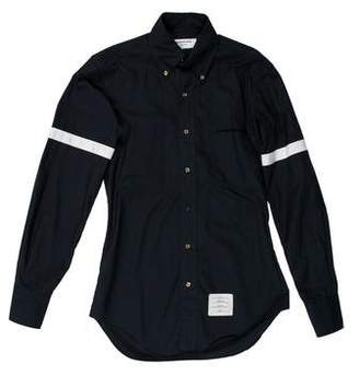 Thom Browne Contrast Button-Up Shirt