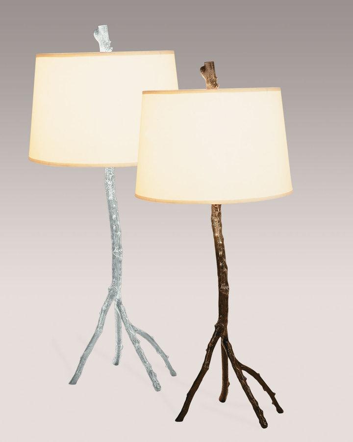 Michael Aram Aluminum-Finished Table Lamp