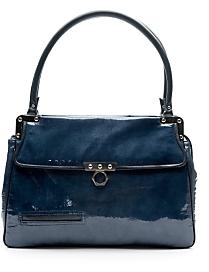 Zac Posen Antonia Patent Leather Bag