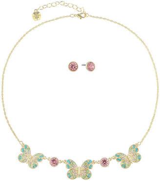 MONET JEWELRY Monet Jewelry Butterfly 2-pc. Multi Color Jewelry Set