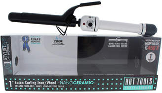 Hot Tools Black & White Nano Ceramic Salon Curling Iron/Wand