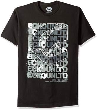 Ecko Unlimited Unltd. Men's Scrambled Scrabble Tee Shirt