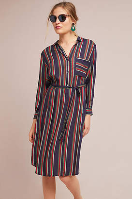 Velvet by Graham & Spencer Pero Striped Shirtdress