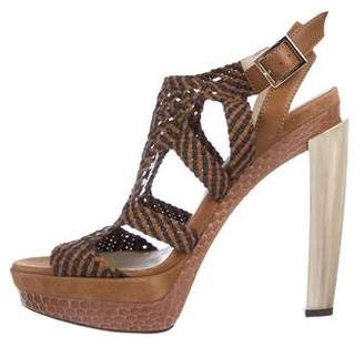 Jimmy Choo Platform High Heel Sandals