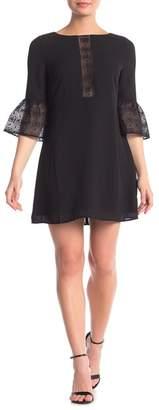 BB Dakota Pour It Up Lace Knit Dress