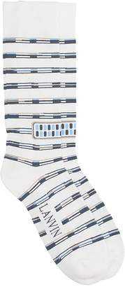Lanvin White Cotton Socks