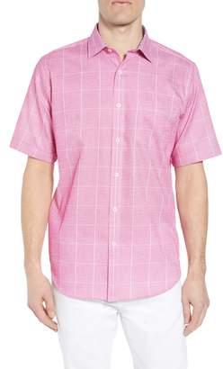 Bugatchi Classic Fit Check Sport Shirt