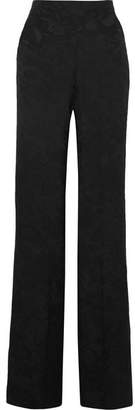 Etro Silk-jacquard Wide-leg Pants - Black