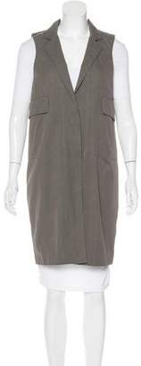 Marni Notch-Lapel Knee-Length Vest