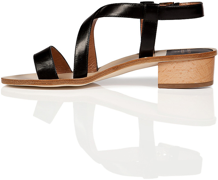 Laurence Dacade Leather Sandals in Black