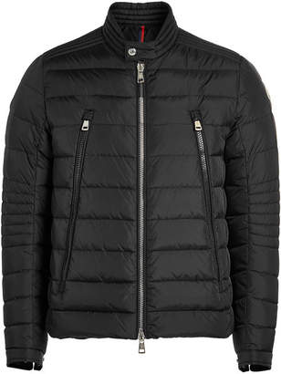Moncler Amiot Quilted Down Biker Jacket
