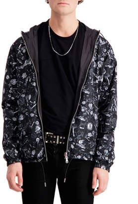 The Very Warm Men's Brooklyn Nets Reversible Hooded Jacket