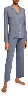 Derek Rose Ethan Jersey Shortie Pajama Set