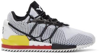 Y-3 Y 3 Black and White Harigane Sneakers