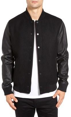 Men's Topman Varsity Bomber Jacket $150 thestylecure.com