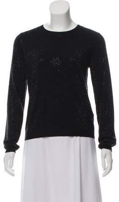 Alice + Olivia Rhinestone Rib-Knit Sweater w/ Tags