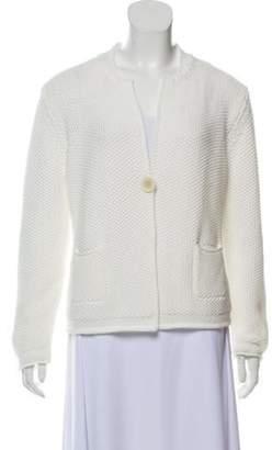 Fabiana Filippi Long Sleeve Knit Cardigan w/ Tags White Long Sleeve Knit Cardigan w/ Tags