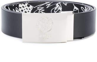 Versus logo plaque belt