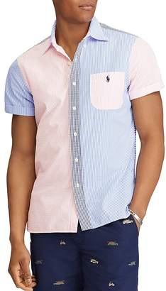 Polo Ralph Lauren Seersucker Panel Button-Down Shirt