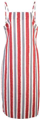 Onia striped mid-length dress