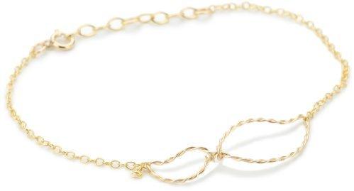 """By Boe Twisted Leaf Bracelet"""" 14k Gold Filled"""