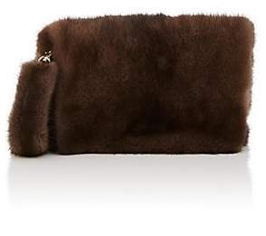 Barneys New York Women's Mink Fur Wristlet - Brown