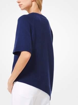 Michael Kors Asymmetrical Cashmere Pullover