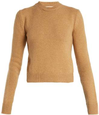 Kelsey round-neck cashmere sweater