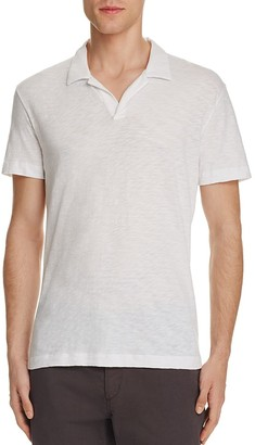 Theory Willem Nebulous Slim Fit Polo Shirt $85 thestylecure.com
