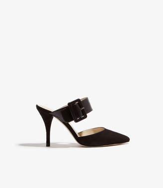 Karen Millen Buckle Mule Shoe