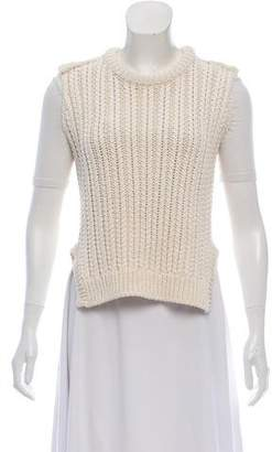 Hache Cropped Sweater Vest w/ Tags