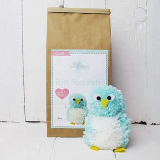 Hurley Sarah Pom Pom Pets Craft Kit Mr Lovebird