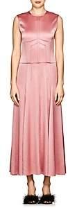 Cédric Charlier Women's Textured Satin Gown - Lt Pink