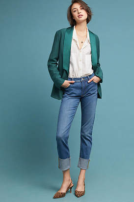 Pilcro and the Letterpress Pilcro High-Rise Slim Straight Jeans