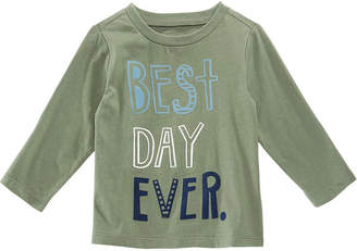 First Impressions Baby Boys Best Day Ever Graphic-Print T-Shirt