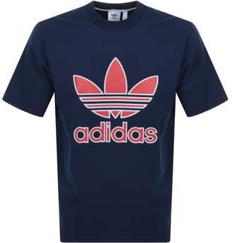 adidas Sportivo Oversized T Shirt Navy
