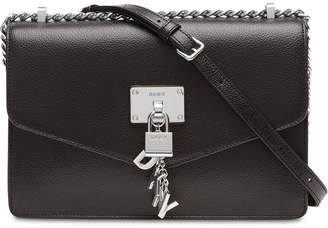 906fed00b DKNY Elissa Leather Chain Strap Shoulder Bag
