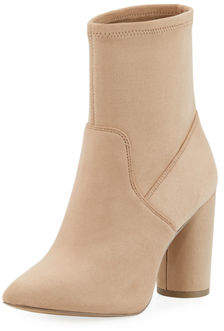 BCBGeneration Ally Microsuede Pointed Booties