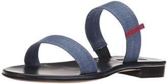 Sarah Jessica Parker Women's Wallace Double Strap Flat Slide Sandal
