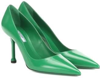3792e5bd9b403 Prada Green Pumps - ShopStyle