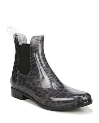 Sam Edelman Tinsley Leopard Chelsea Rain Boots