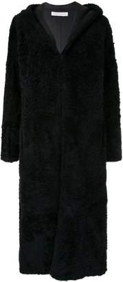 Inès & Marèchal Elton long hooded coat