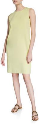 Eileen Fisher Crewneck Organic Cotton Jersey Tank Dress