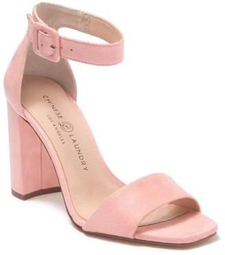 Chinese Laundry Jettie Open Toe Block Heel Sandal